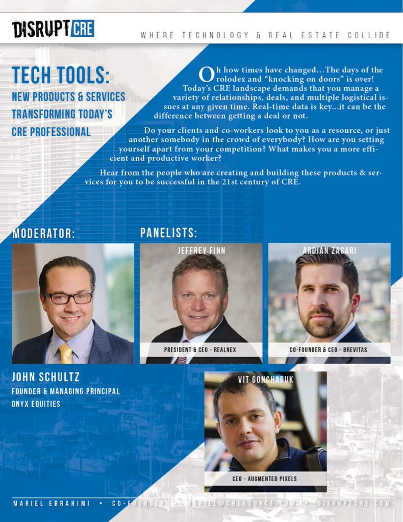 Tech Tools Panel